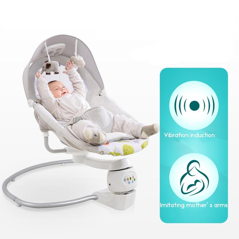Multi-function baby shaker baby electric cradle baby recliner comfort newborn shaker solve mother trouble baby comfort cradle