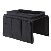 4 Pockets Storage Bag Sofa Handrail Couch Arm Rest Organizer Holder Remote Control Organizer Bag @LS
