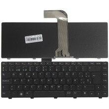 Clavier Dordinateur Portable espagnol pour DELL Vostro 14R N4110 M4110 N4050 M4040 N5050 M5050 M5040 N5040 3330 X501LX502L P17S N4120 SP