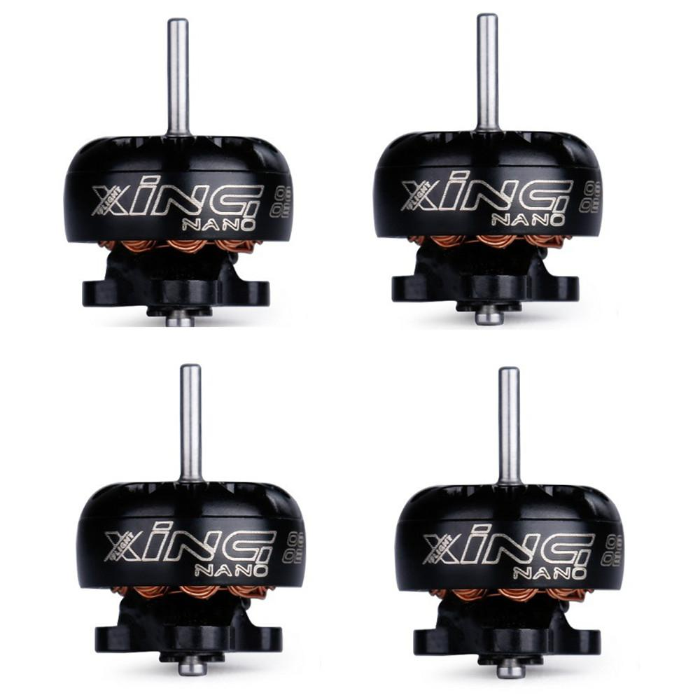 RCtown 4 Uds iFlight XING 0802/22000/17000KV 1-2S 1mm del eje de Motor sin escobillas para RC Drone FPV
