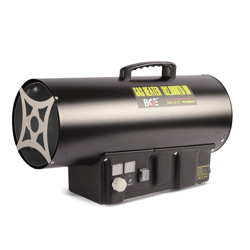 30KW Industrial Gas Heater liquefied Gas Warm Hot Fan Breeding Site Factory Warmer Greenhouse Insulation Portable Heater