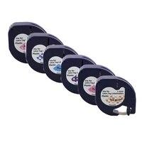 5 pack 12mm cartoon label 12267 91201 91200 91202 91203 91204 91205 label tape compatible dymo lt 100h lt 100t label maker qx 50