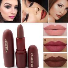 MISS ROSE Matte Mist Lipstick Long Lasting Non Sticky Moisturizing Lip Cream Long lasting waterproof, create charming lip makeup