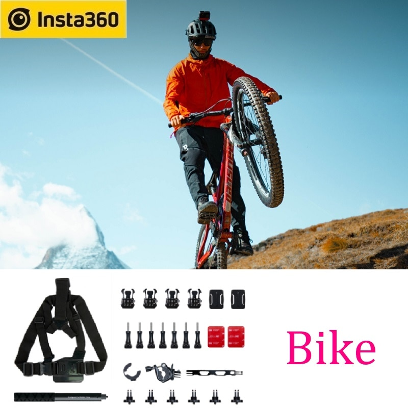 Insta360 Bike Bundle For ONE X2 / ONE R Action Camera Professional Sports Accessories cycling mountain biking BMX motorcycling