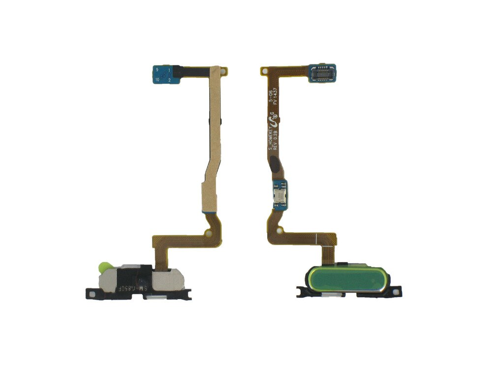 5pcs/lot Home Key Button Flex Cable For Samsung Galaxy Alpha SM-G850F G850A White/Black/Gold/Gray/Blue Color return functions enlarge