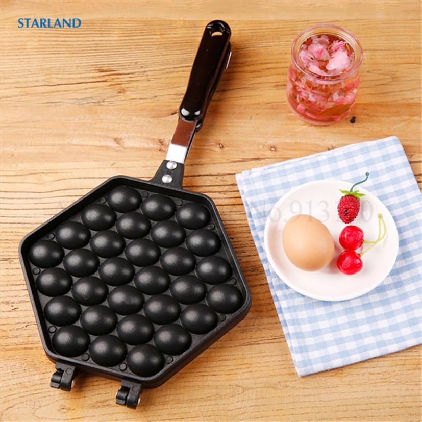 QQ Eggette الهراء عموم لتقوم بها بنفسك أداة نفخة البيض قالب الطبخ المنزلية غير عصا قالب سطح الطبخ