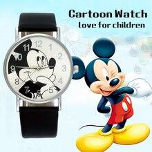Heiße Verkäufe Schöne Mickey kinder Uhren Mädchen Jungen Geschenk Mode Kristall Kleid Kinder Quarz Armbanduhren Kinder Uhr Uhr