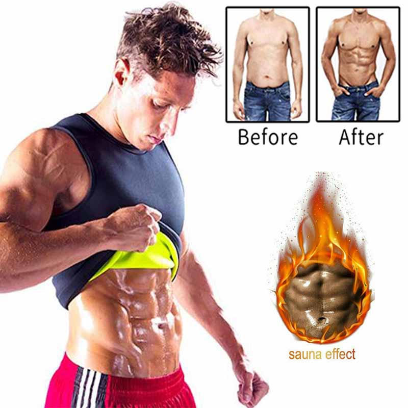 Neoprene Abdomen Fat Burning Shapewear Men Slimming Body Shaper Sauna Vest Weight Loss Waist Trainer Corrective Posture Corset slimming belt belly men slimming vest body shaper neoprene abdomen fat burning shaperwear waist sweat corset weight