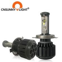 Светодиодный фонарь для мотоцикла H4 P43T PX43T HS1 H7 PX26D H8 H11 H1 H3 6000K, супер яркий белый свет, 8000 лм