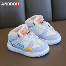 Size 21-32 Children Casual Breathable Running Sneakers Girls Boys Kids Wear-resistant Light Shoes Ba