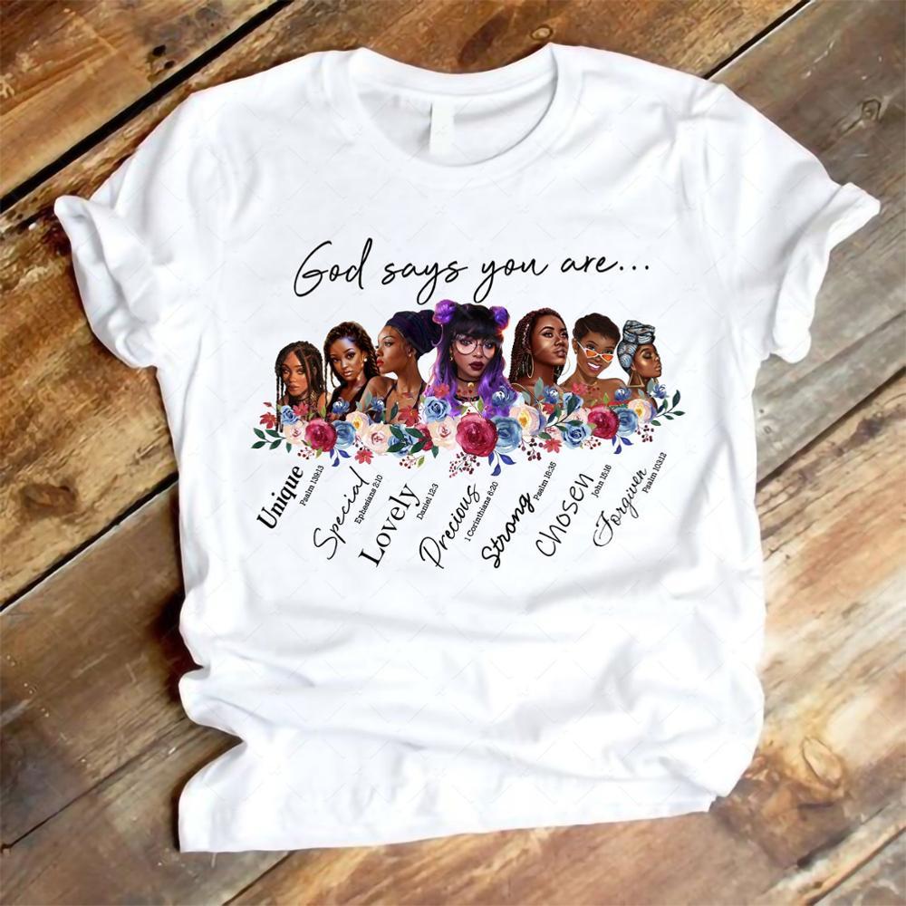 Новейшая футболка melanin, женская черная футболка с надписью «you are black girl», женская футболка с надписью «black lives»