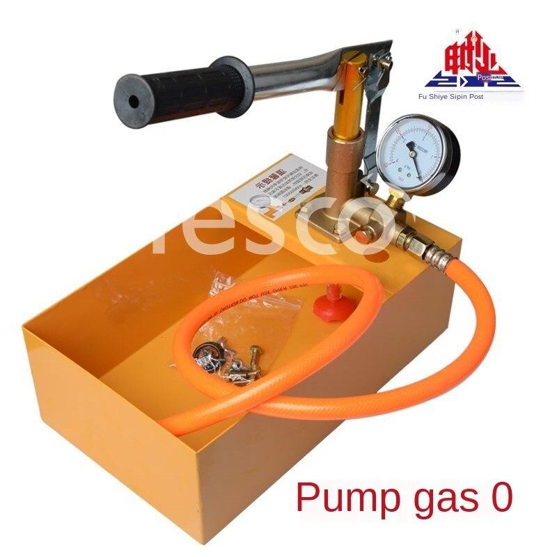 Máquina de prueba de presión de agua presión tubería instrumento de fuga suelo calefacción inspección bomba presión manual