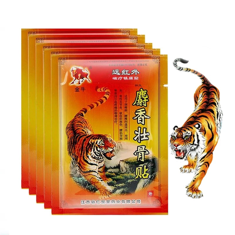160/120 pcs Tiger Balm Pain Relief Patch Fast Relief Aches Pains Inflammations Health Care Lumbar Spine Medical Plaster