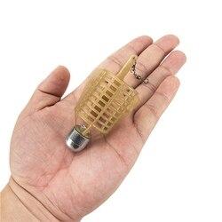 Isca de pesca gaiola 20g/30g/40g/50g conector de pesca chumbo sinker alimentador de pesca isca titular lançador carpa equipamento de pesca ferramenta acce