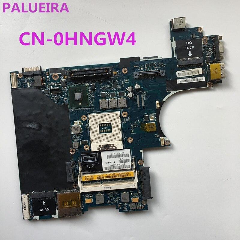 PALUBEIRA CN-0HNGW4 0hnmw4 hnmw4 para DELL Latitude E6410 Laptop motherboard NCL00 LA-5471P QM57 DDR3 completamente probado trabajo perfecto