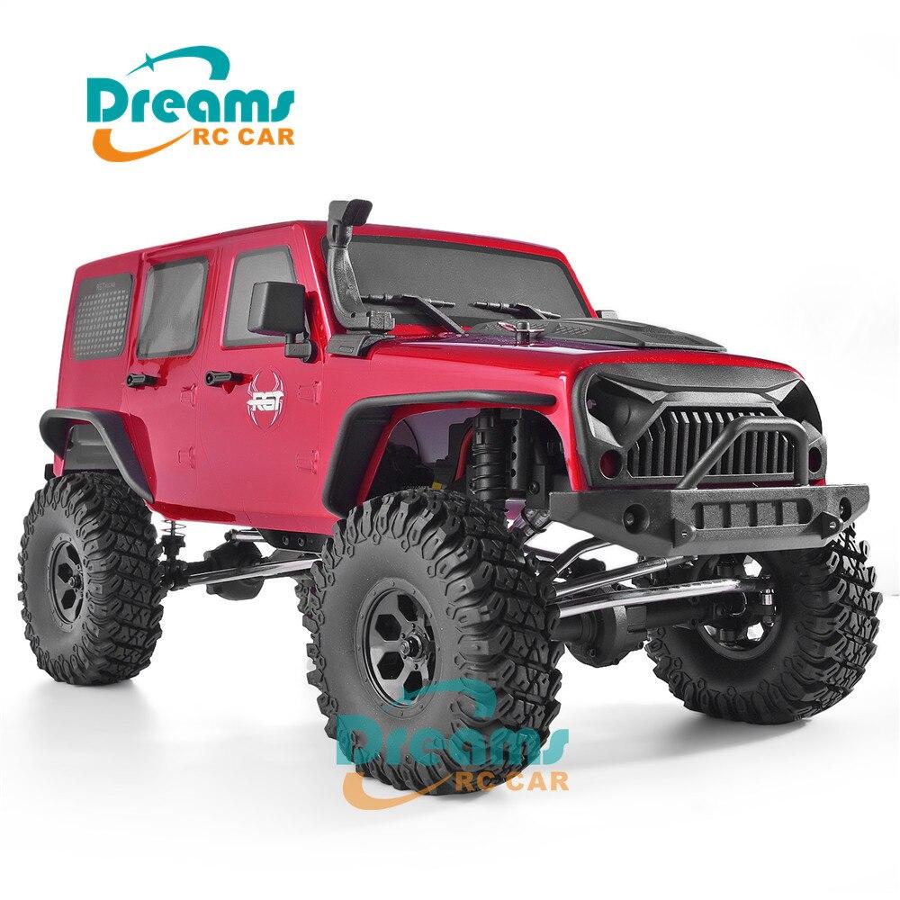 RGT RC Crawler 110 4wd RC coche Metal Gear Off Road camión RC Rock Cruiser EX86100 Hobby Crawler RTR 4x4 juguete a prueba de agua RC