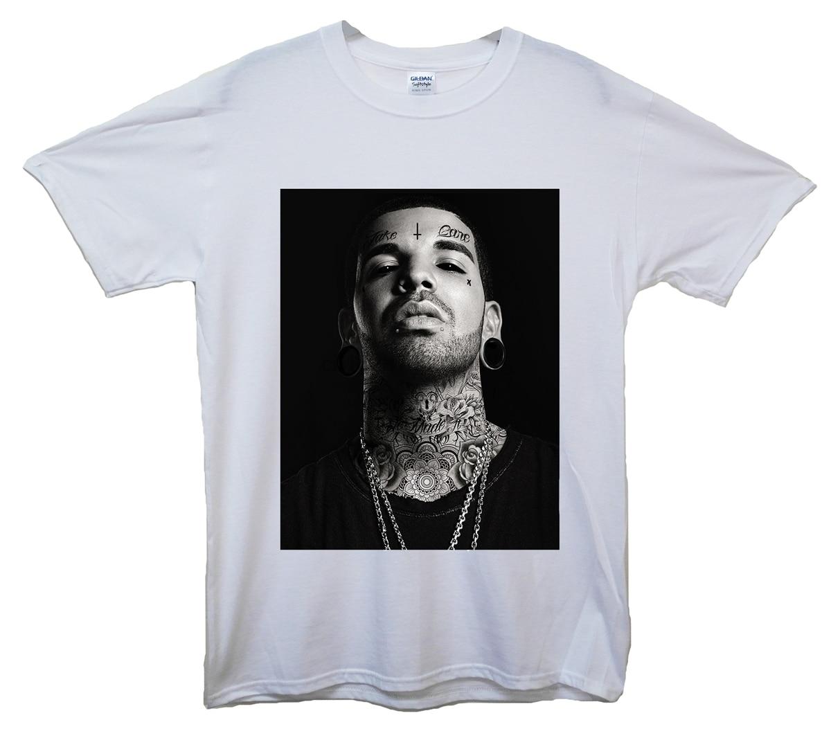 Camiseta de manga corta para hombre, camiseta de marca Drake Defaced