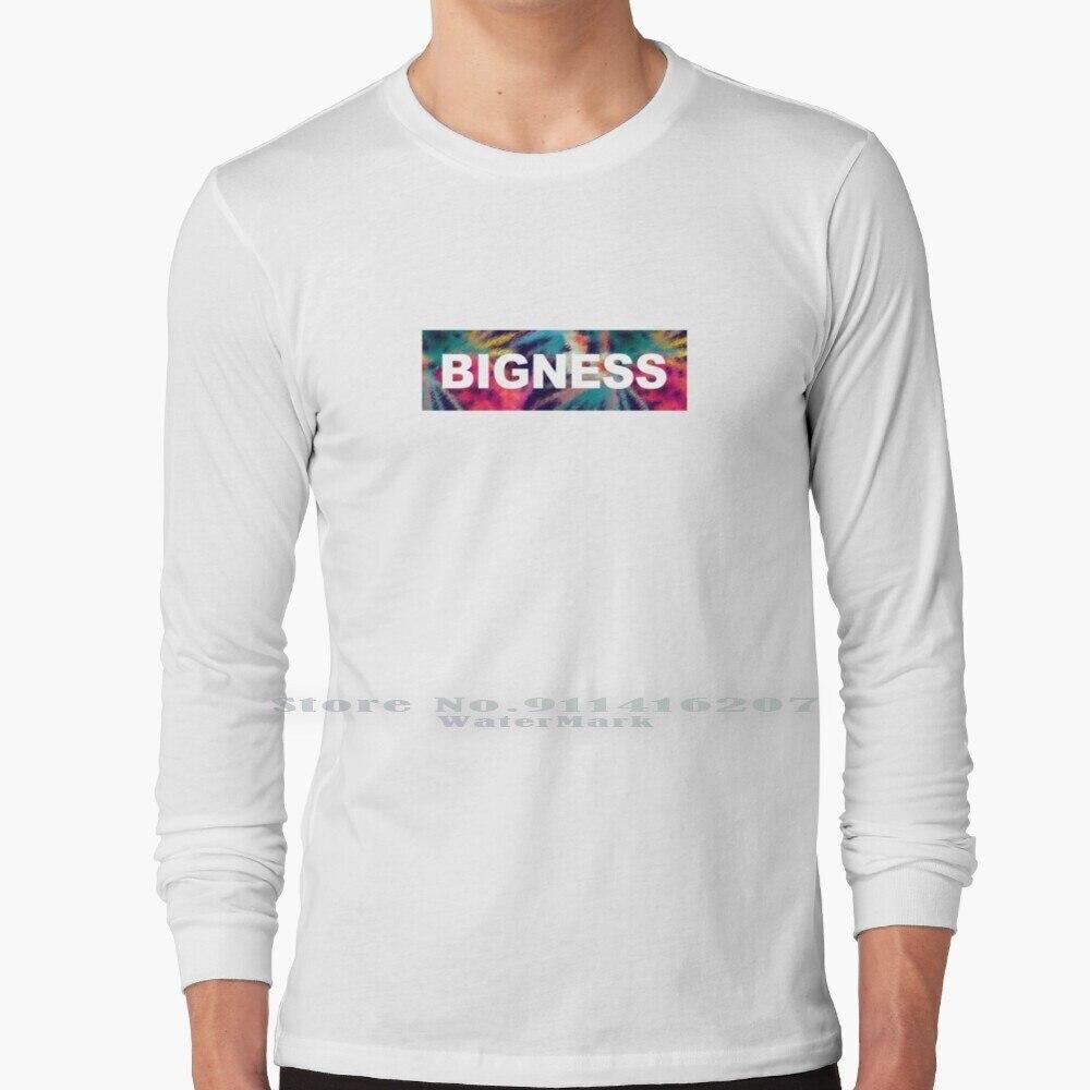 Bigness Clothing Brand Colorful Splatter Background Logo From Los Santos , San Andreas T Shirt 100% Pure Cotton Los Santos San