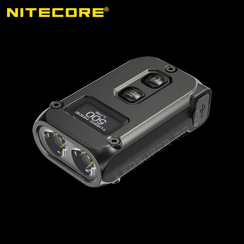 NITECORE TINI2 500 Lumen USB-C Rechargeable Keychain Flashlight
