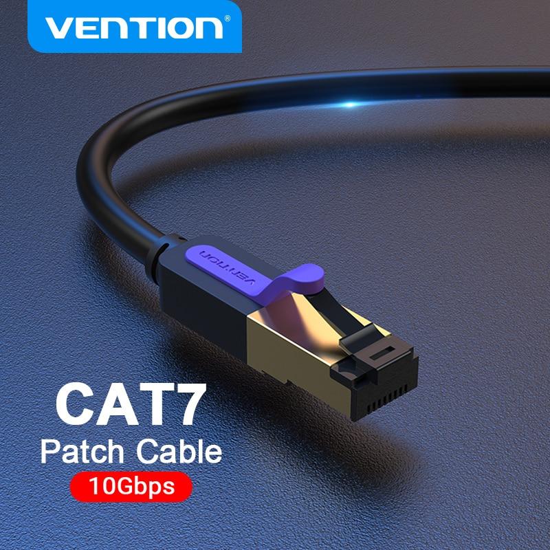 Vención de La Ethernet Cable RJ 45 Cat7 Lan Cable STP RJ45...