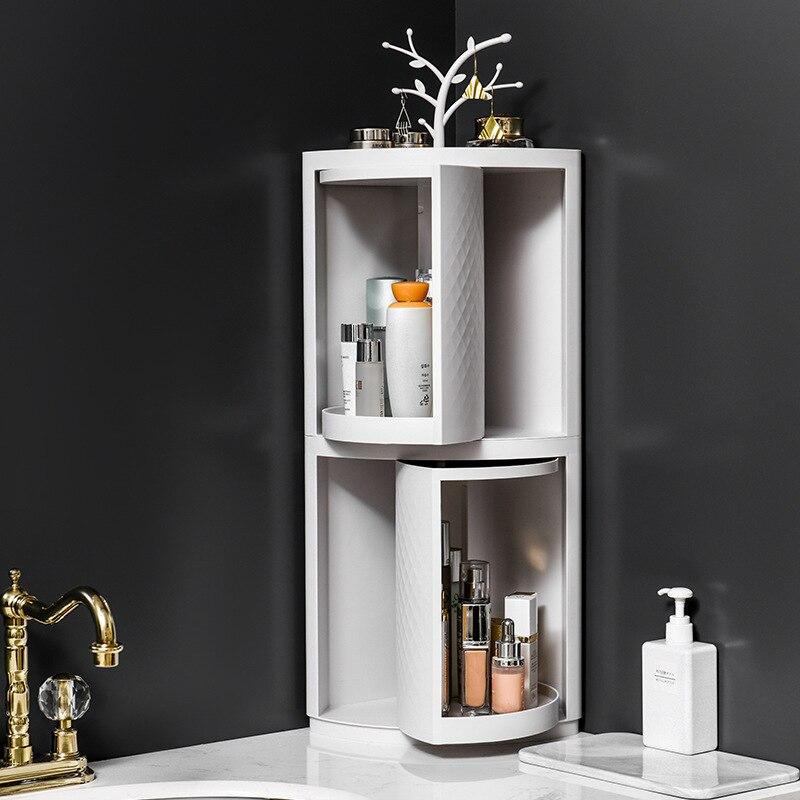 الحمام الزاوية المنظم الجرف الحائط رف مطبخ الشامبو التجميل تخزين الرف الأدوات المنزلية اكسسوارات الحمام