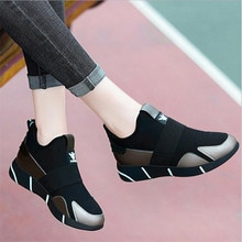 2020 Women Sneakers Vulcanized Shoes Ladies Casual Shoes Breathable Walking Mesh Flats Large Size Co