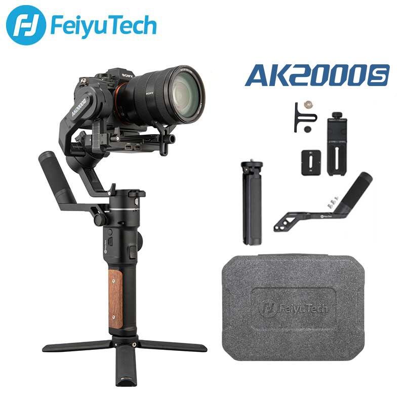 FeiyuTech официальный AK2000S AK2000C DSLR Профессиональный Камера Стабилизатор Ручной видео стабилизатор Gimbal подходит для беззеркальная камера DSLR Кам...
