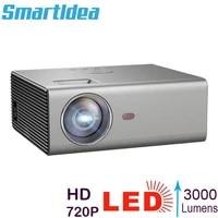 Smartldea     Mini projecteur LCD HD natif 1280x720P  Full HD 1080p  Home cinema 3D