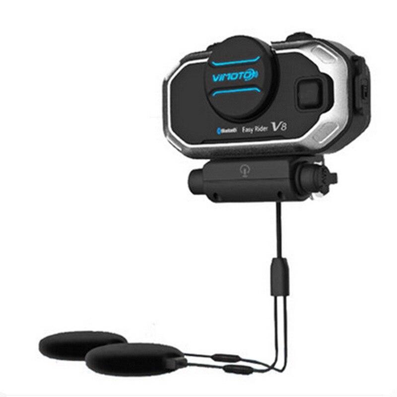 Walkie Talkie Hands-free Helmet Bluetooth Headset K /M Plug Wireless Headphones For Vimoto V8 Motorcycle Helmet Earphone enlarge