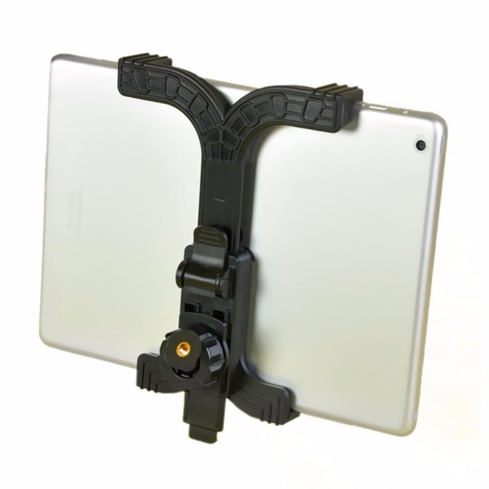 ABS uchwyt do tabletu uchwyt do stojaka klip akcesoria do tabletu 7-11 cali do ipada uchwyt do statywu do montażu na statywie