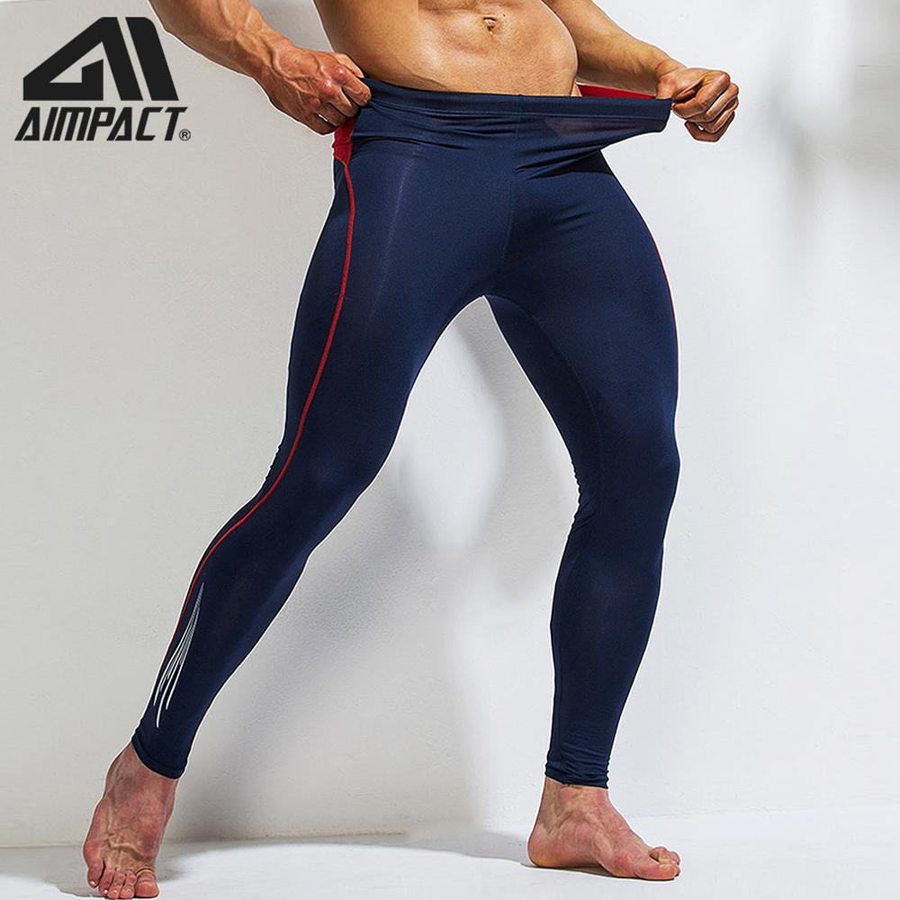 Sport Compression Pants Men Athletic Fitness Running Tight Bottoms Bodybuilding Training Workout Gym Yogo Leggings Quick AM5119