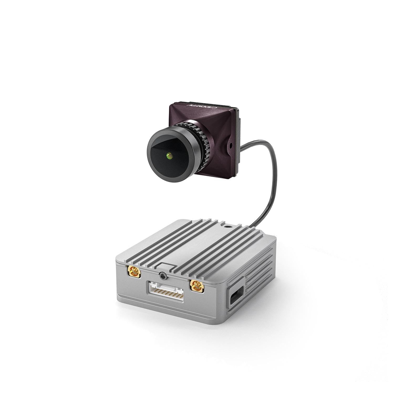 Caddx القطبية مجموعة وحدة الهواء ل DJI FPV وحدة الهواء التي suport 5.8GHZ إشارة الفيديو الرقمية و 720p 120fps نقل الصورة دائم