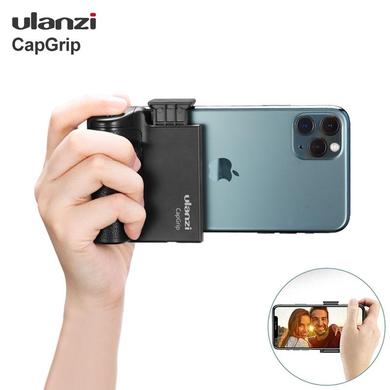 AliExpress - Ulanzi CapGrip Wireless Bluetooth Smartphone Selfie Booster Handle Grip Phone Stabilizer Stand Holder Shutter Release 1/4 Screw