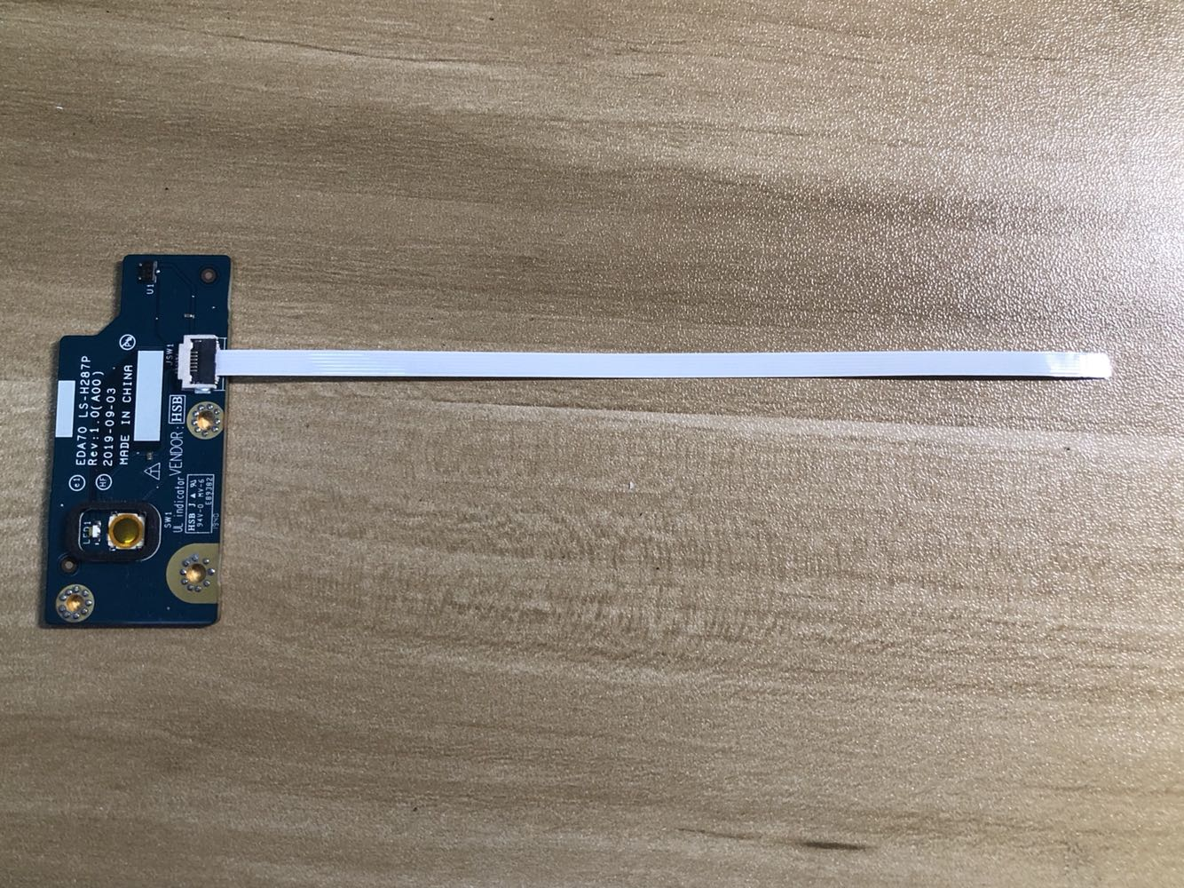 الأصلي لديل الدقة 7730 7740 كمبيوتر محمول زر الطاقة المجلس مع كابل 089H98 EDA70 LS-H287P إصلاح الملحقات