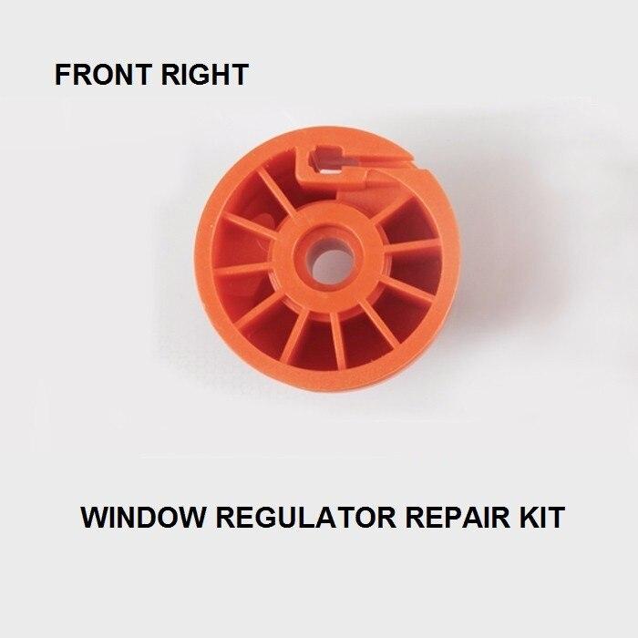 Rolo de rolo para janela de carro, para citroen c3 muliel kit de reparo 2/3-porta frontal direita 2003-2010