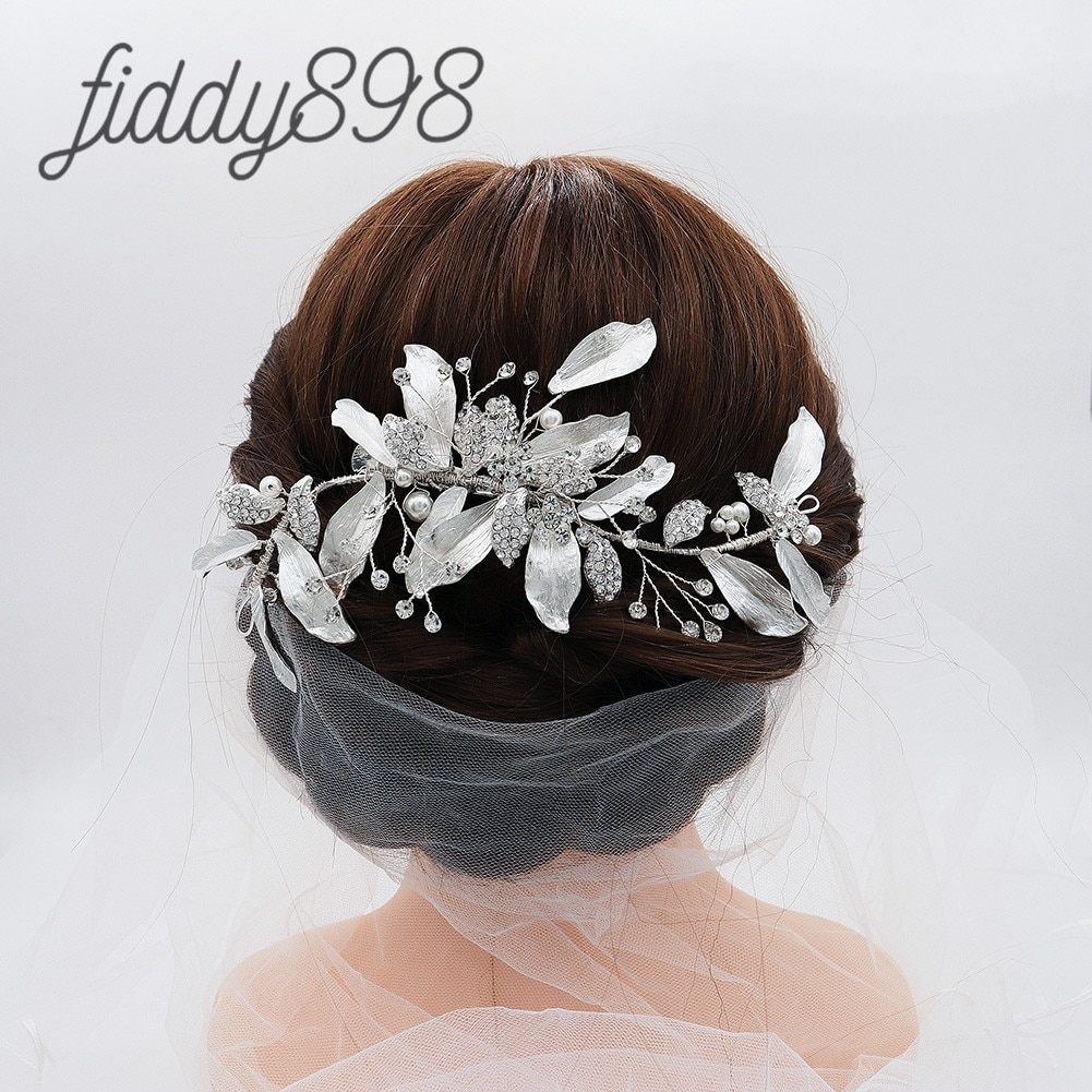 Accesorios para el cabello de boda para mujer, tocados con diamantes de...
