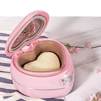 peach heart shaped rice cooker smart mini rice cooker household for 1 2 3 4 people