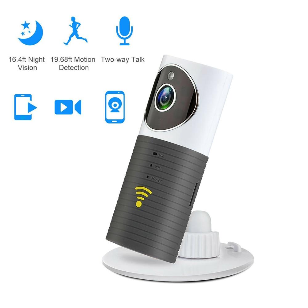 HD Wifi IP Camera Clever Dog Cleverdog Home Security CCTV WiFi Monitor Smart phones Tablets Drop shipping