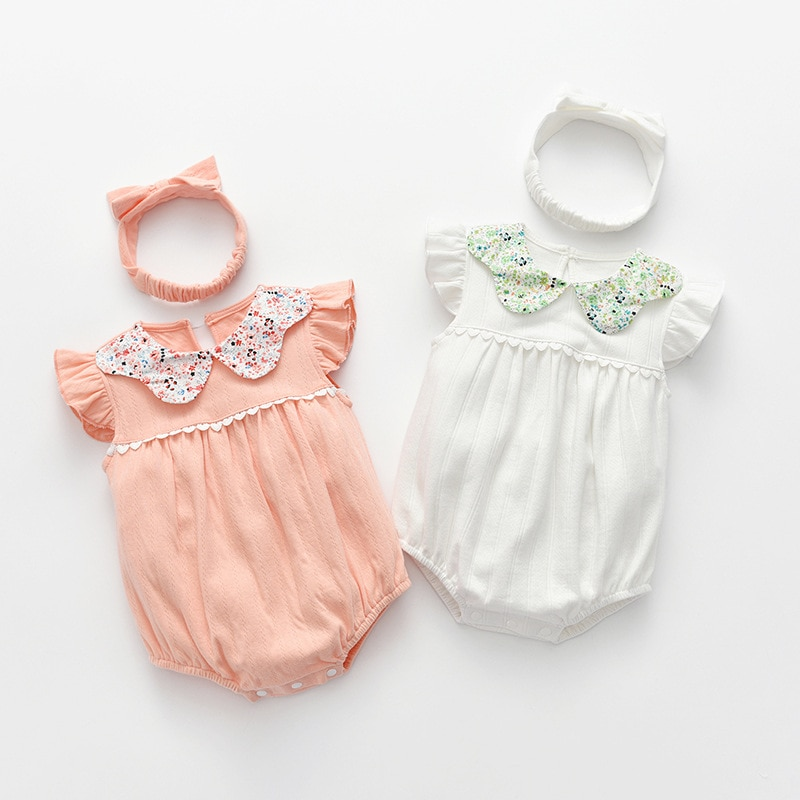 Yg Brand Children's Clothing 2021 Summer New Baby Girl's Clothing, Princess Wind Pure Cotton Cute Bag Butt Baby Triangle