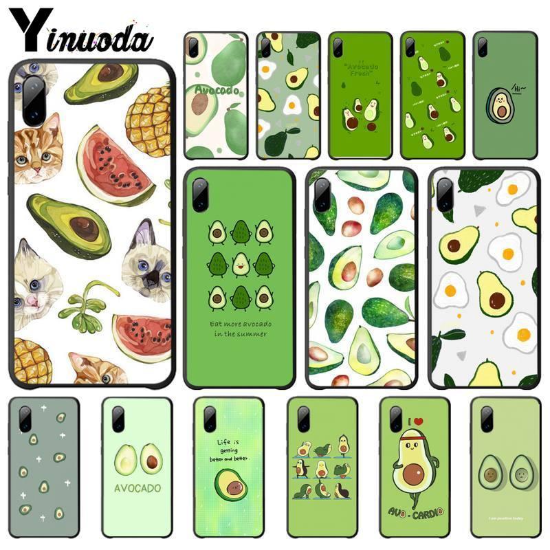 Yinuoda Avocado Aesthetic Cute Fashion Pattern Cover Case For Xiaomi Mi A1 A2 Lite Redmi Note 2 3 4 4x 5 5a 6 Phone Accessories