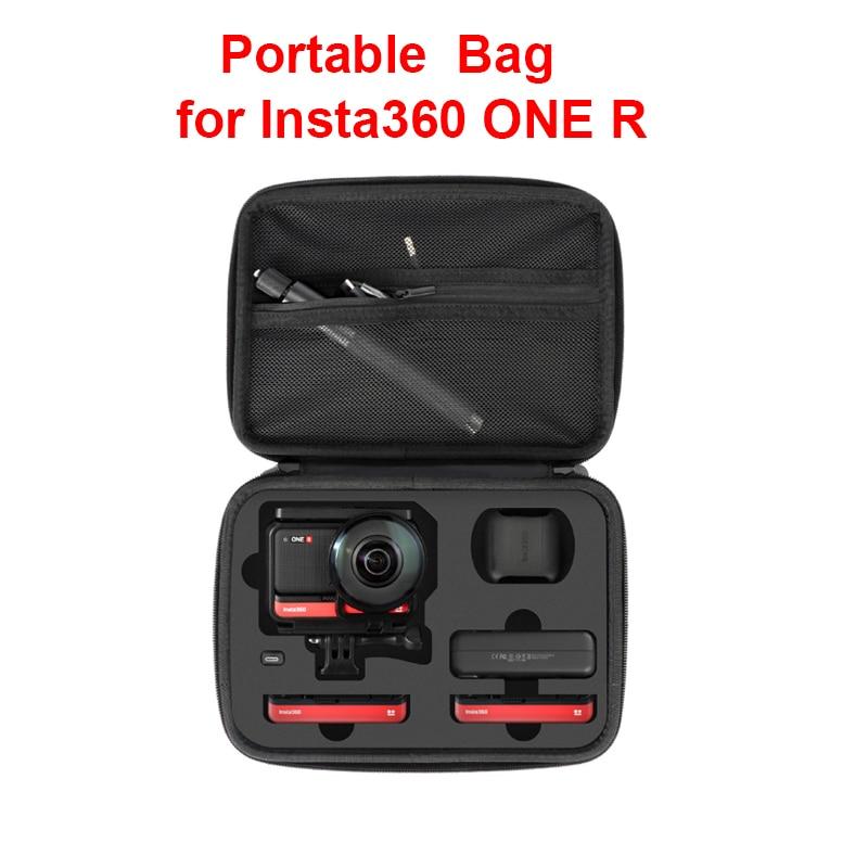 Bolsa de almacenamiento portátil Insta360 ONE R Twin Edition Insta 360 ONE R 360 mod/ 4k gran angular funda de transporte para cámara Accesorios