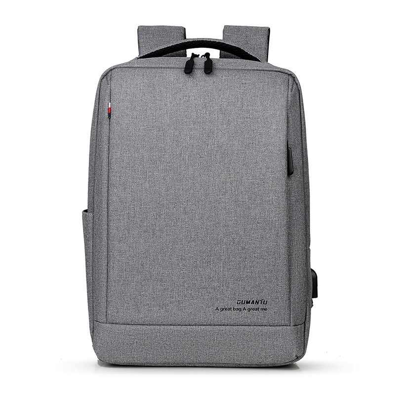 حقيبة ظهر للكمبيوتر المحمول مقاس 15.6 بوصة مع منفذ شحن USB وحقيبة ظهر للسفر للرجال والنساء