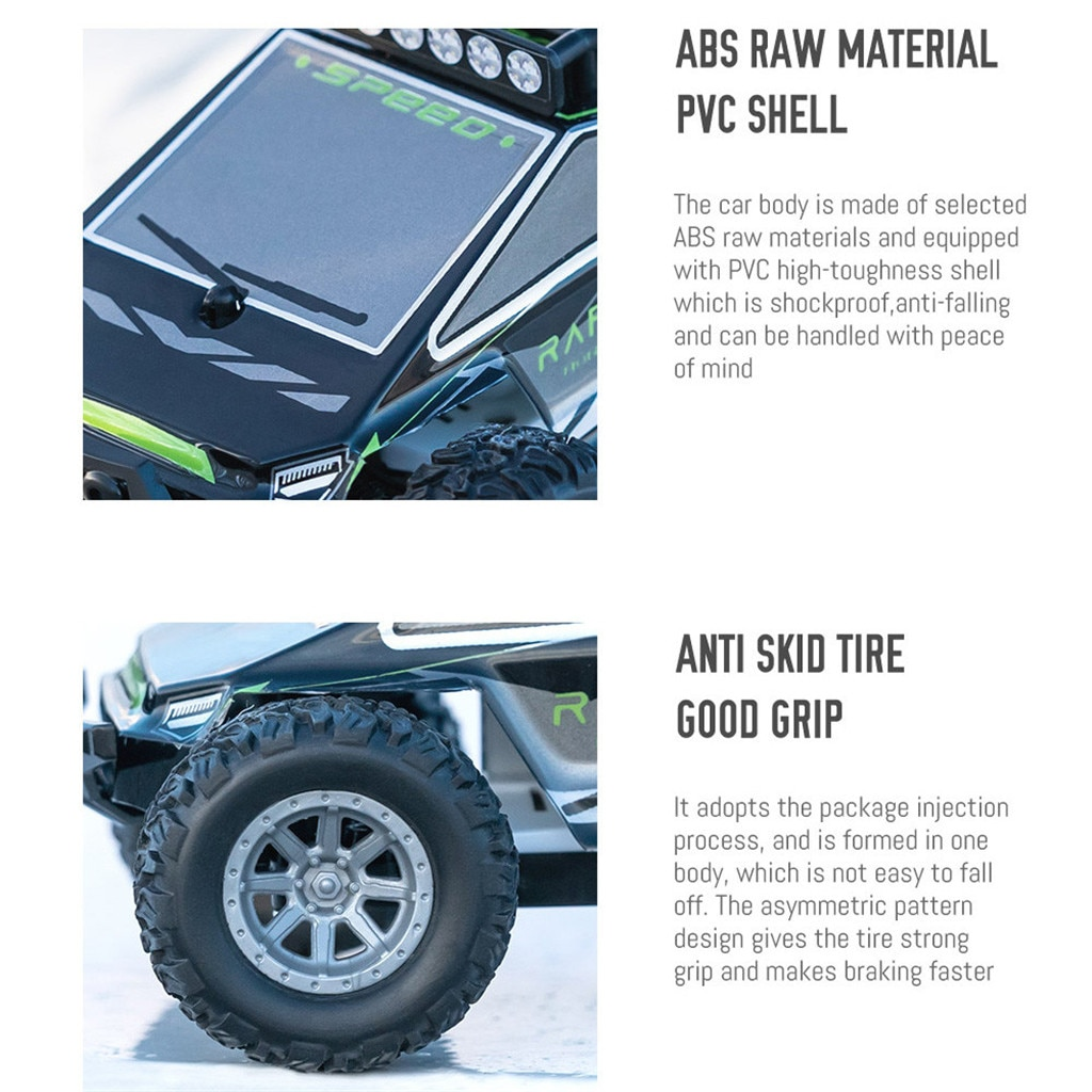 1/32 2.4G 4WD Off-road Outdoor Remote Control Drift Car High Speed Metal Racing Rc Car Childrens Toy Gift for Boys Girls Kids enlarge