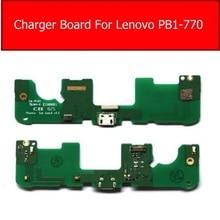 Usb Charger Port Connector Board For Lenovo PB1-770N 770M Usb Charging Jack Dock Board Flex Ribbon C