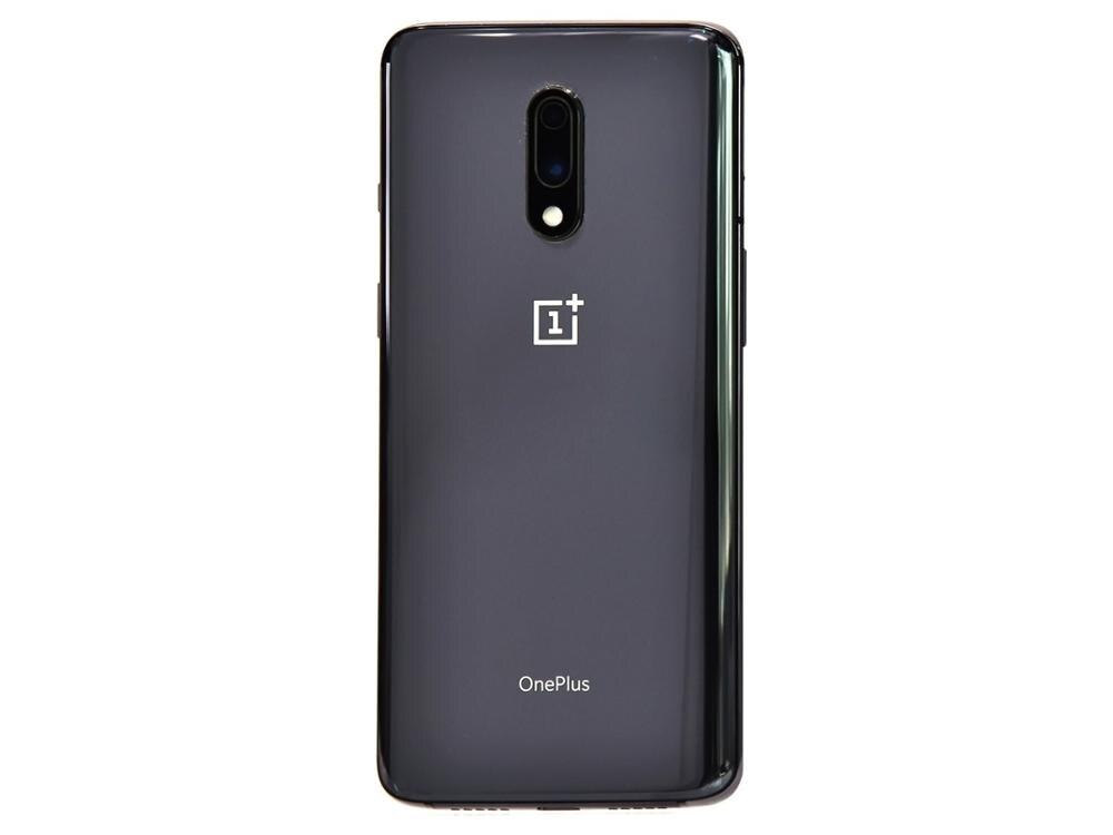 Фото3 - Смартфон Oneplus 7 Международной прошивки, 12 Гб 256 ГБ, Восьмиядерный процессор Snapdragon 855, AMOLED экран 6,41 дюйма, две камеры 48 Мп + 16 Мп, NFC, 3700 мАч, мобиль...