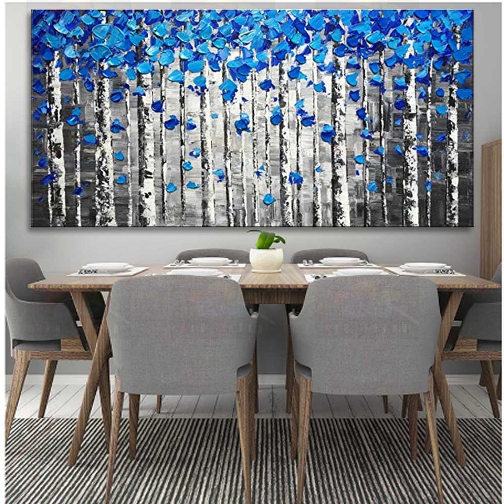 Pintura a óleo artesanal sobre tela moderna 100% melhor arte abstrata moderna pintura a óleo original diretamente da arte é SL-1100