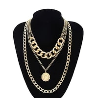 nanbo fashion punk chain charm bohemian maxi collar necklaces for women christmas jewelry