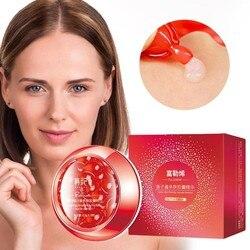 38 pçs caviar cápsulas essência hidratante encolher poros ácido hialurônico rosto soro nutrir branqueamento essência anti-envelhecimento