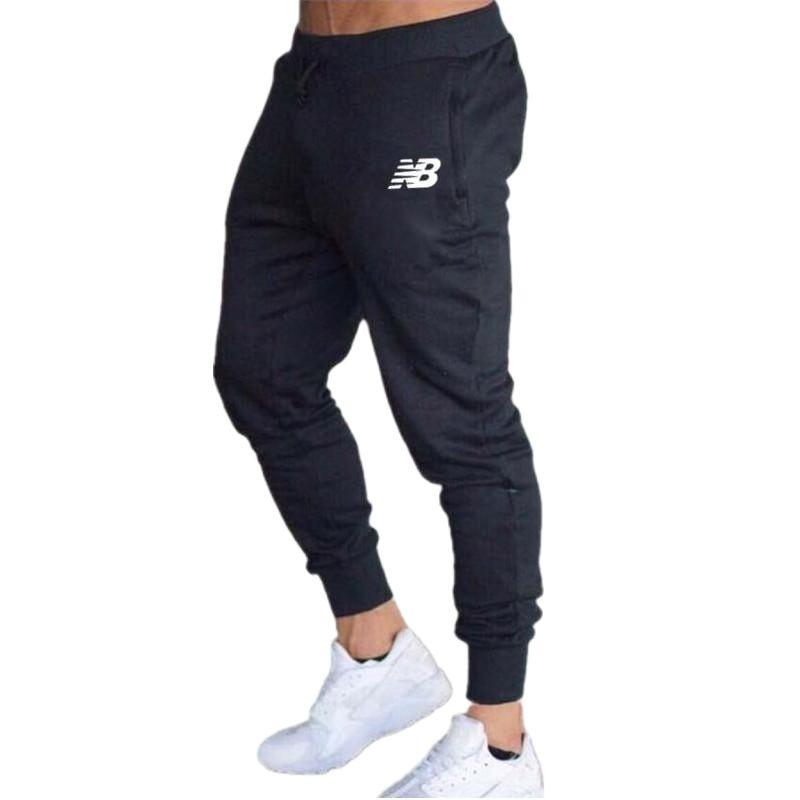 Мужские штаны для бега весна-осень брендовые штаны для бега мужские штаны для фитнеса и бега мужские повседневные штаны для тренажерного за...