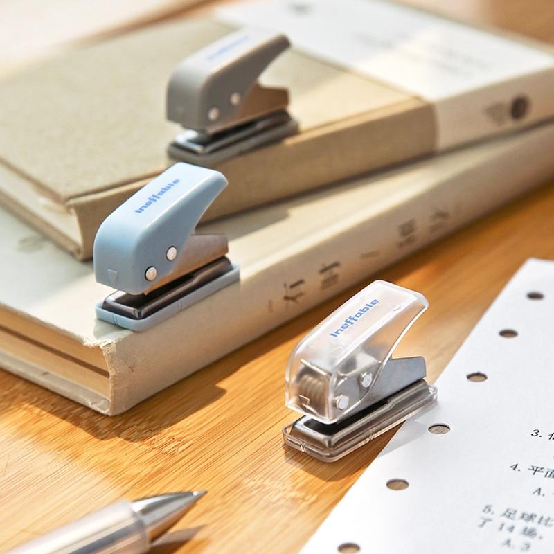 Dimi Милая Мини-фотобумага с одним отверстием для планера, рукоделие, резак для бумаги, 10 страниц, искусственная Канцелярия для офиса